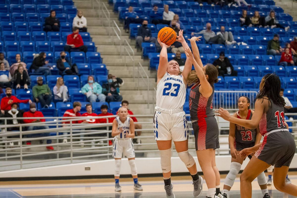 Armuchee's Olivia Moses vs. Mt. Zion - Region 6-A Public Girls Basketball Tournament