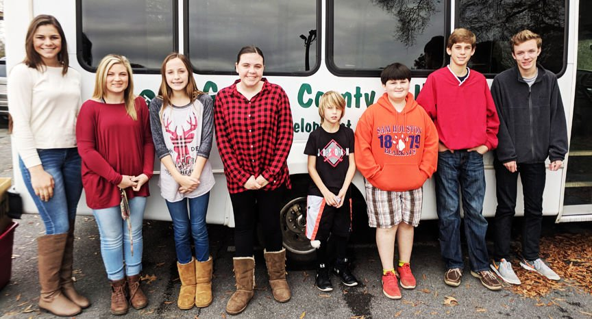 Gordon County 4-H participates in holiday service projects