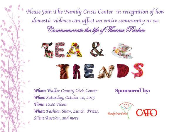 Tea Party/Fashion Show fundraiser