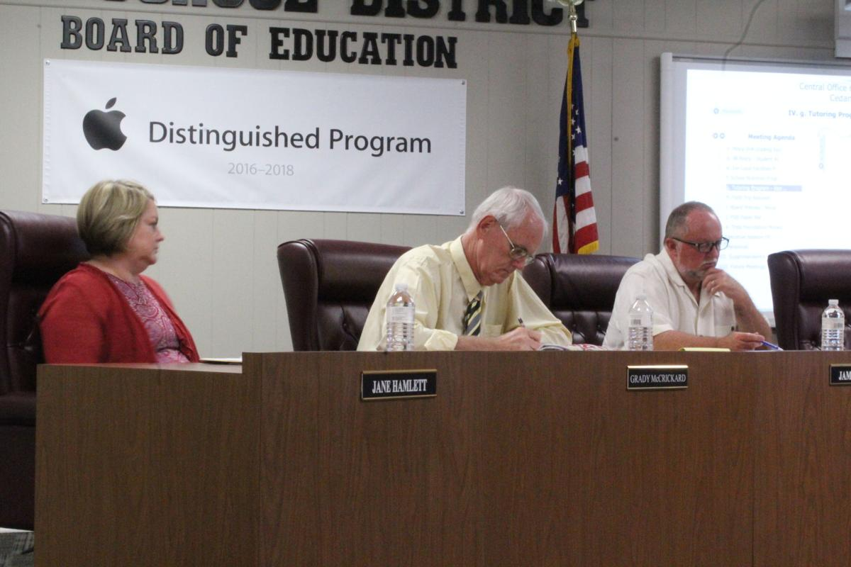 Polk County Board of Education, July 2017