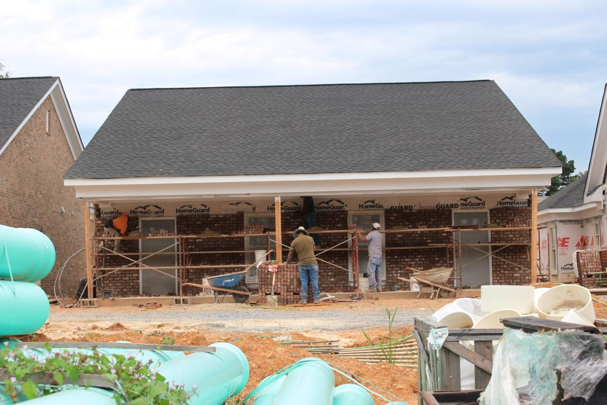 Construction underway on affordable housing