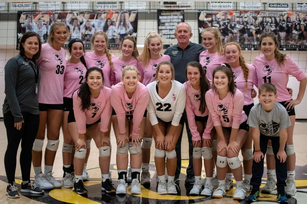 Calhoun Volleyball sweeps Lumpkin County and Islands to advance to Elite 8