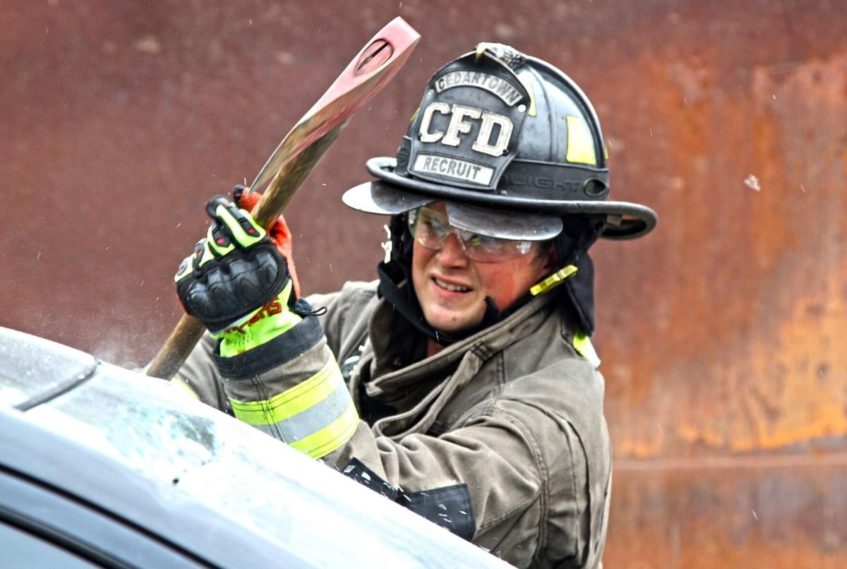 Firefighters keep sharp with extrication training