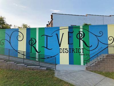 River District mural
