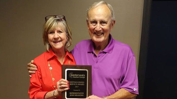 State Rep. John Meadows honored by Easterseals