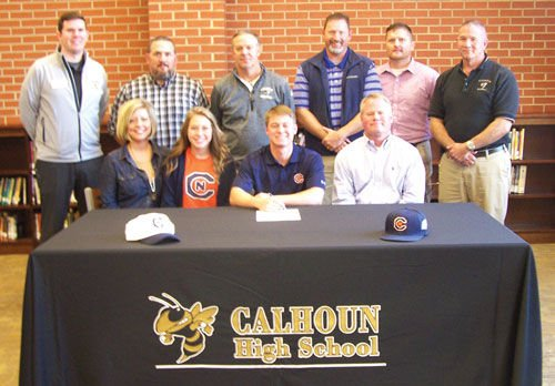 Calhoun's Kemp signs with Carson-Newman