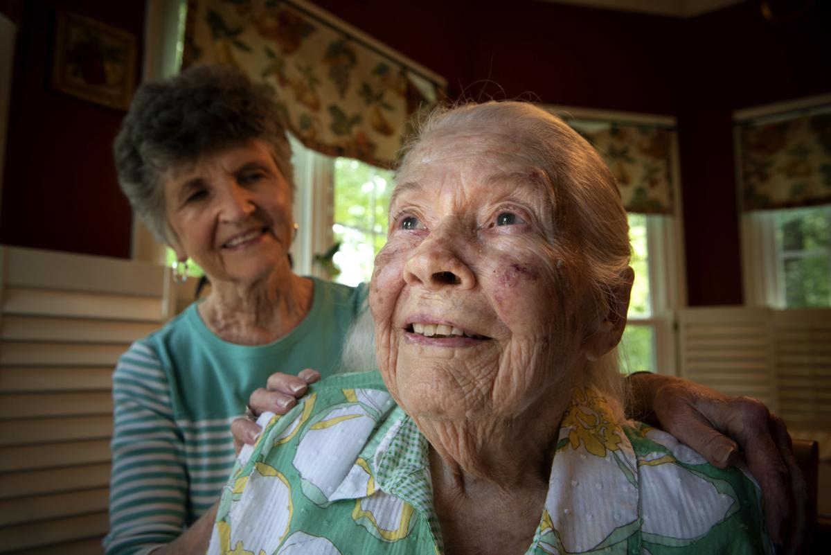 Elderly caring for elderly