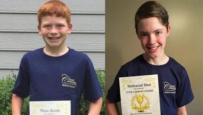 Local homeschool students earn Memory Master award
