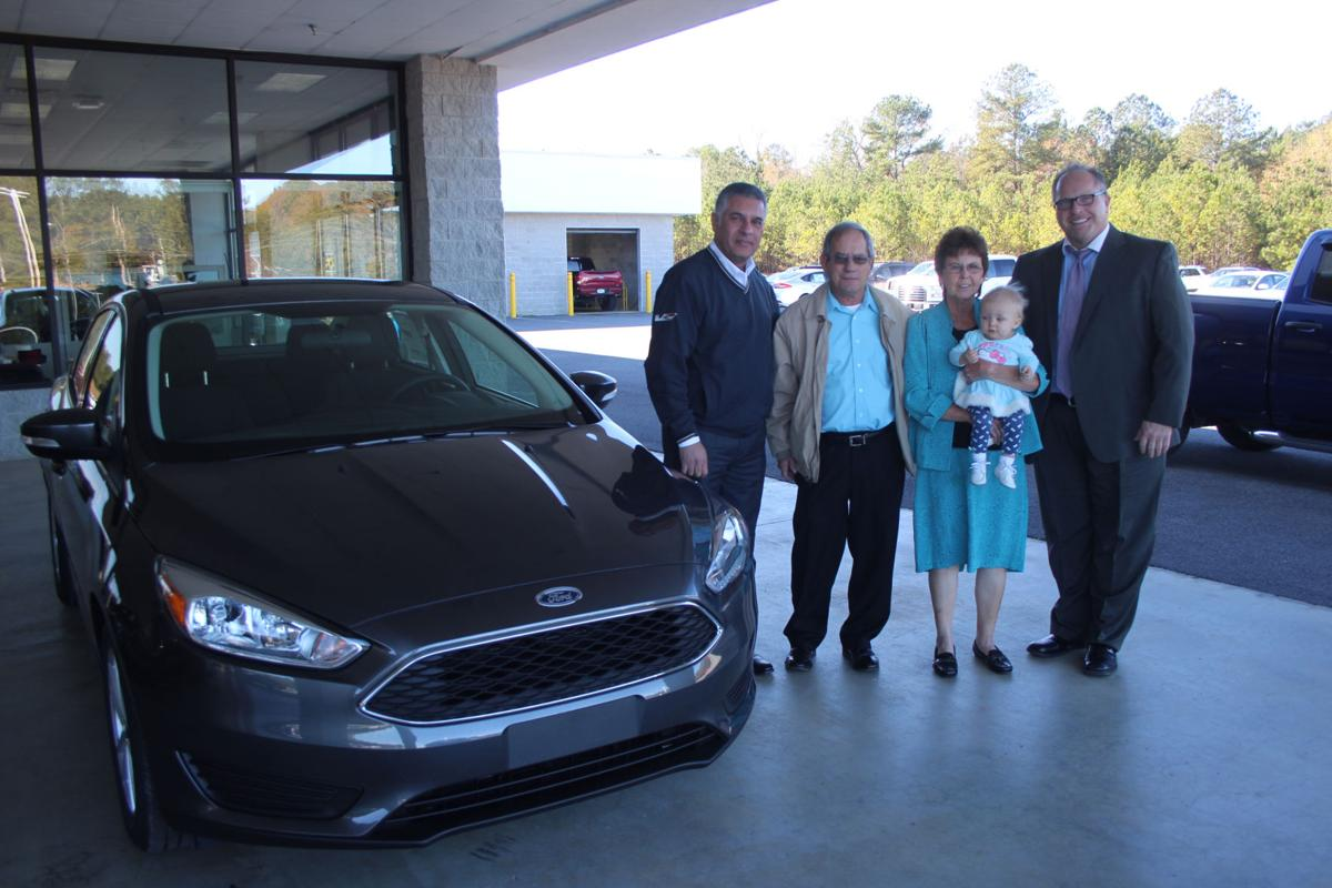 Rick Zoerb Ford car giveaway winners