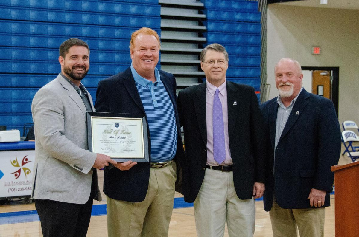 Nance inducted into Shorter University Athletic Hall of Fame