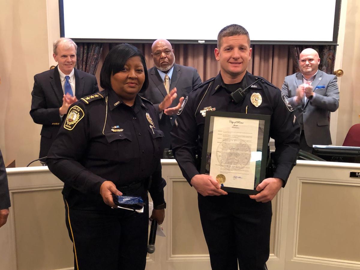 Scott Kasmar named Rome Police Officer of the Year