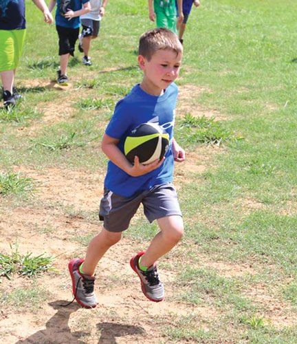 Gordon Central Youth Football Camp