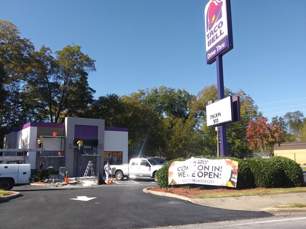 Taco Bell is back open in Cedartown