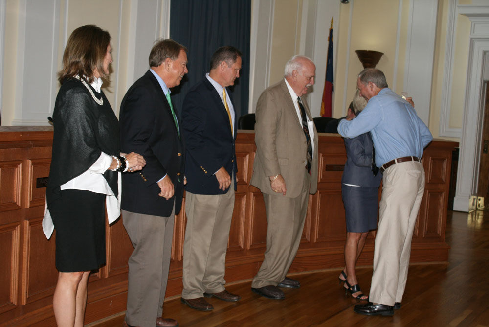 Floyd County Commission longtime service