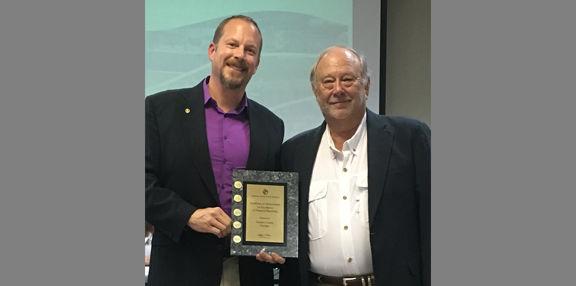 County recognizes Leonard's achievement