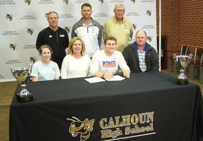 Calhoun's Bailey Lester signs with West Georgia