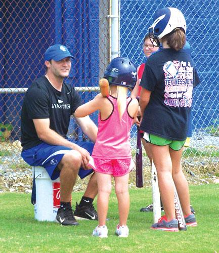 Gordon Central softball coach Chris Stephens