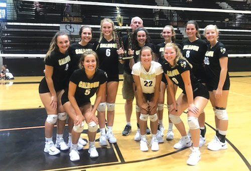 Calhoun volleyball goes 6-0 to win At The Rock Tournament