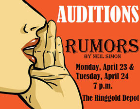 """Rumors"" auditions"