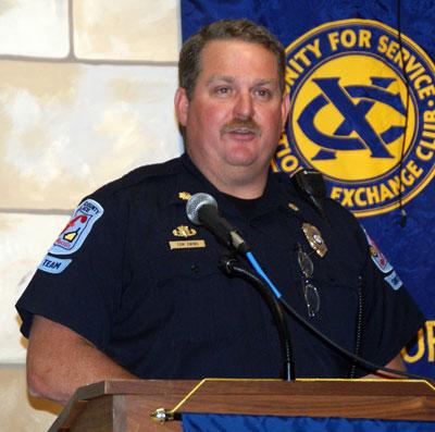 Law enforcement groups detail community involvement for civic club