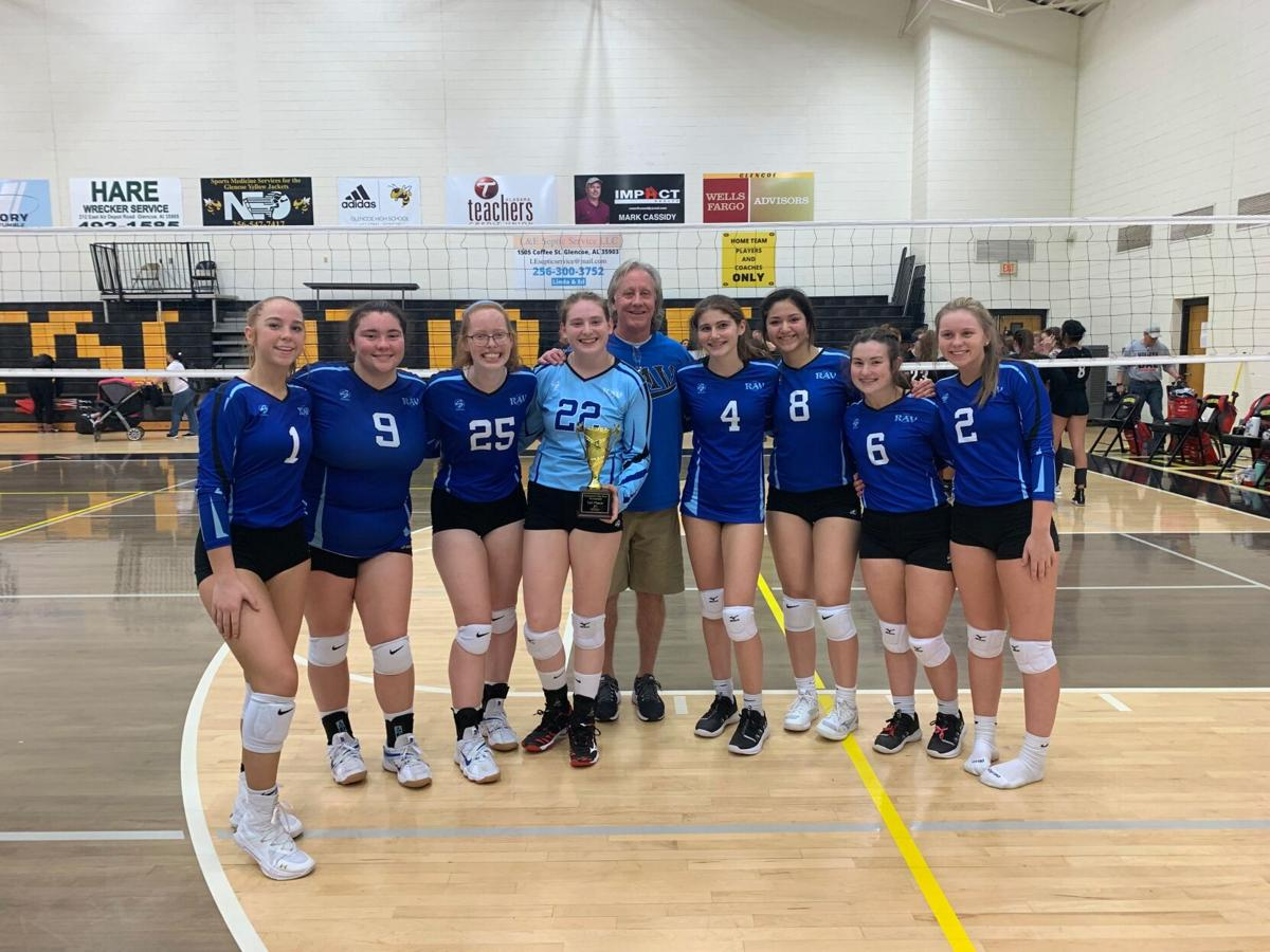 Rome Area Volleyball Club's Blue 17 team wins