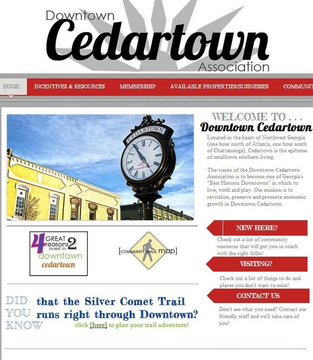 Downtown Cedartown website
