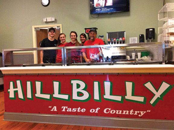 Hillbilly's restaurant in LaFayette