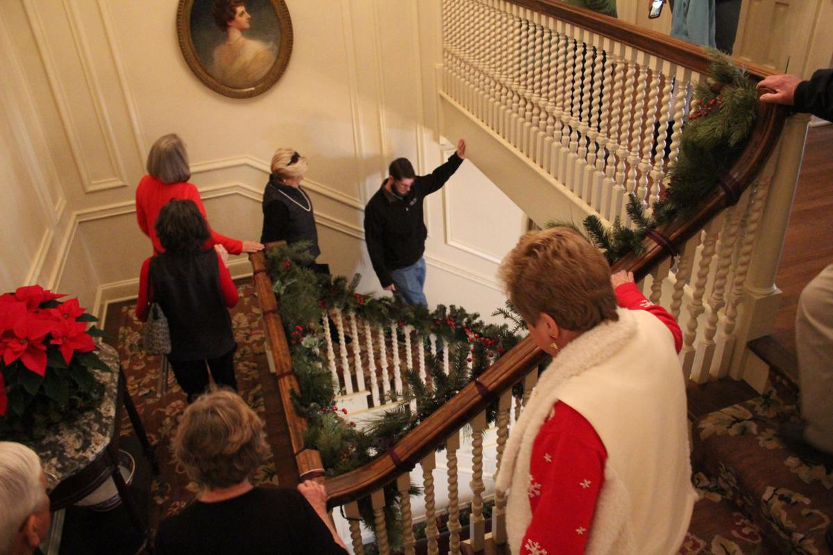 Victorian Christmas Tour inside the Martha Berry Museum