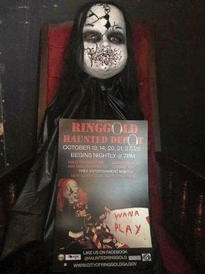 Ringgold's Haunted Depot