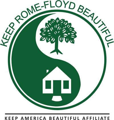 keep rome floyd beautiful logo
