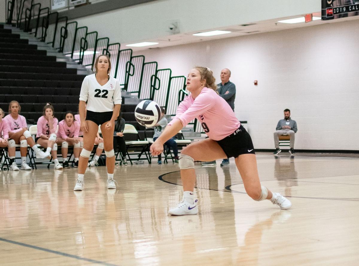 Calhoun Volleyball Playoffs - Nena Marcus