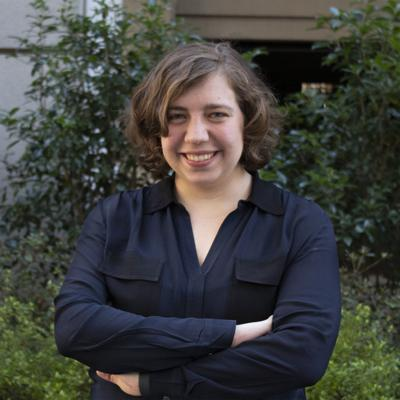 Caitlin Highland, GBPI Director of Strategic Communications