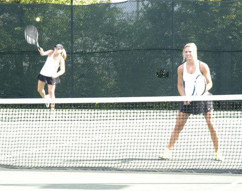 Calhoun girls No. 2 doubles team