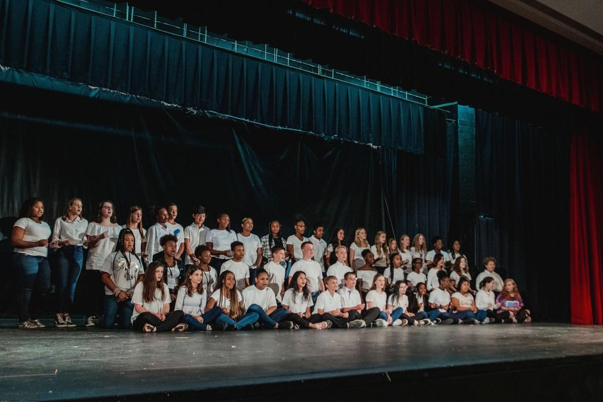 Rome middle and high school students celebrate Hispanic Heritage Month