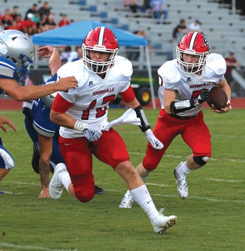 Sonoraville's Blade Bryant and Case Collins
