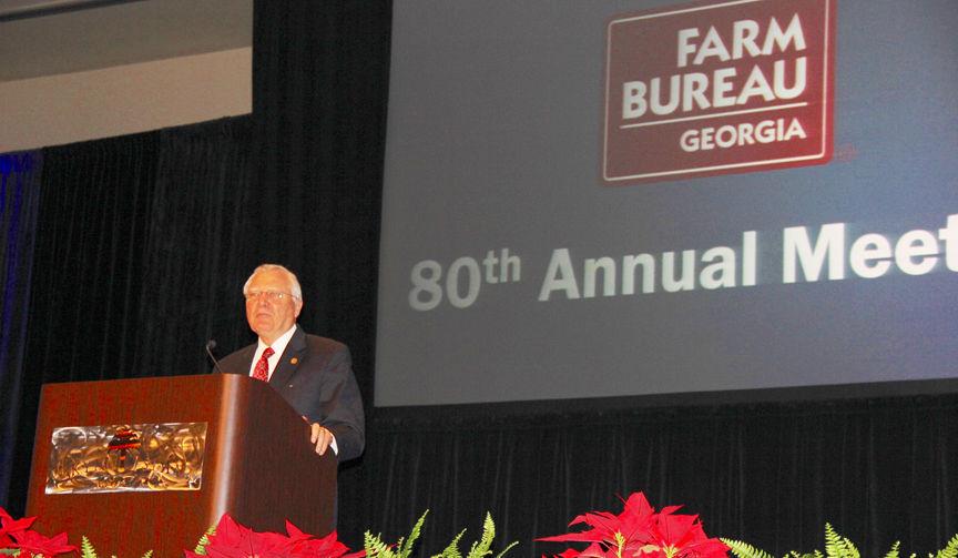 Gov. Deal speaks at GA Farm Bureau Convention