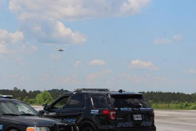 Search for suspects at Polk County Airport