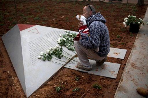 Mideast Israel Holocaust Gay Monument