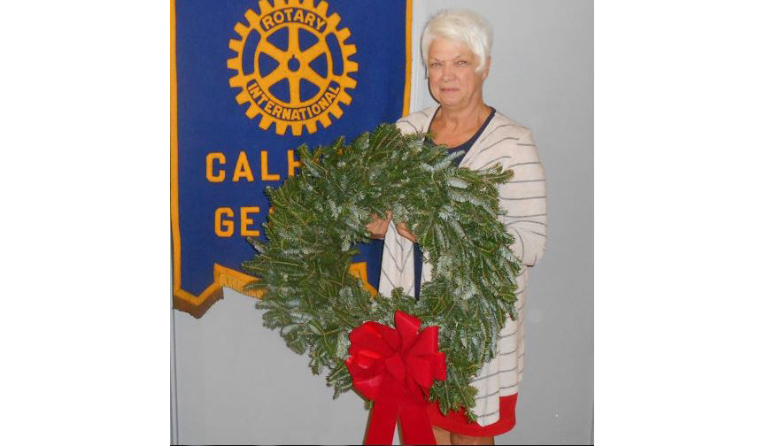 Calhoun Rotary is now taking orders for Christmas wreaths