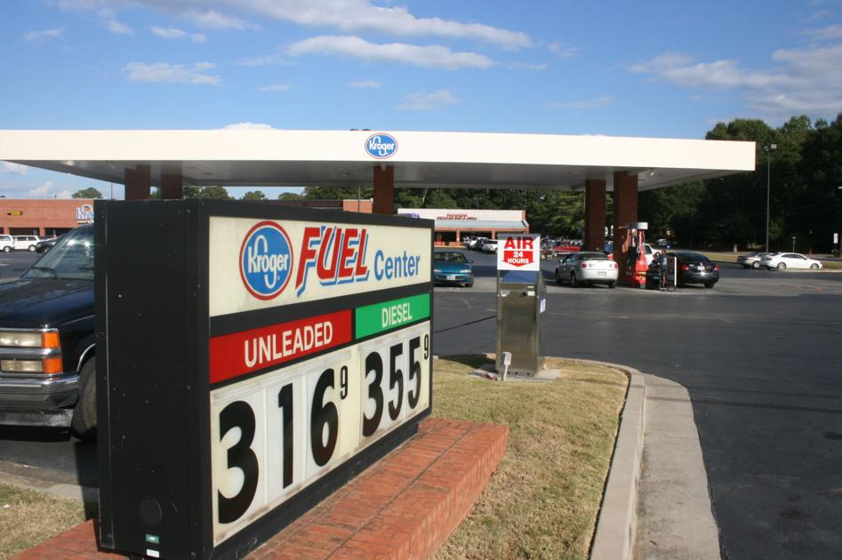 Gas prices trending down in polk county polkfishwrap for Polk fish wrap