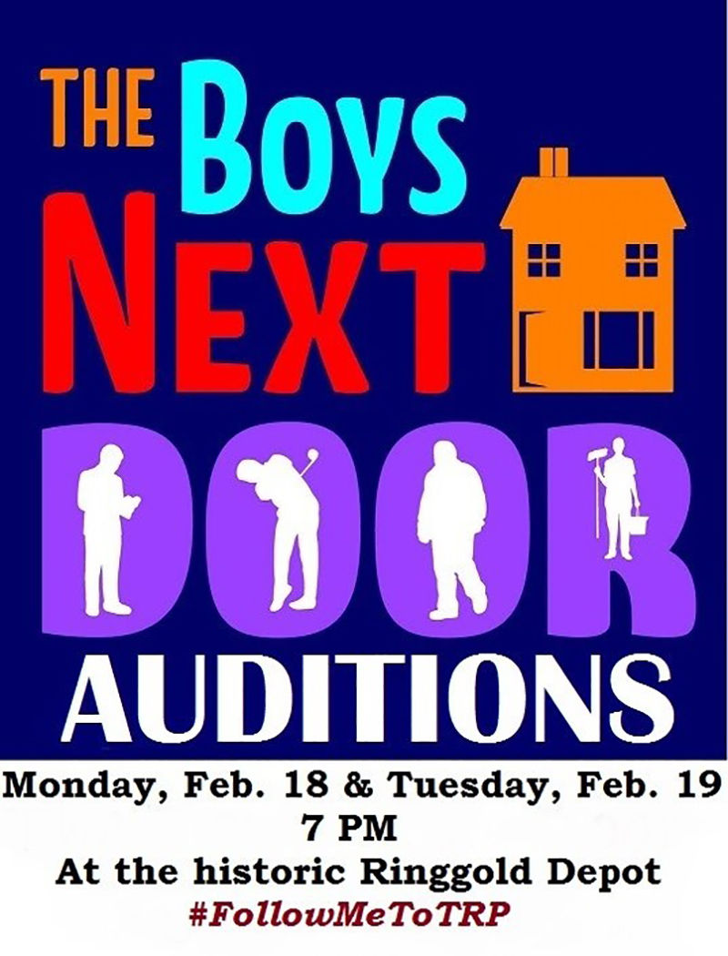 auditions Boys Next Door