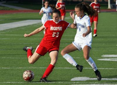 Mae Pierce - Rome girls soccer April 2019