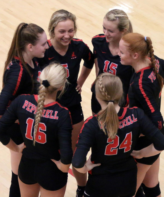 Pepperell Volleyball