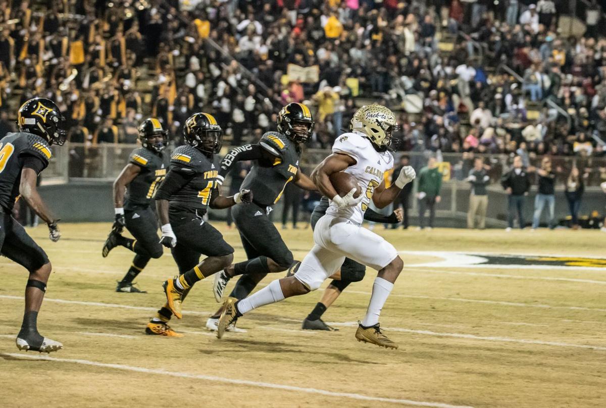 Cedric Lacey kickoff return - Calhoun vs. Peach County
