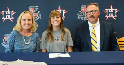 Allison Craft signs with Truett-McConnell
