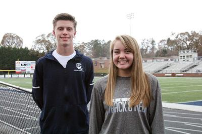 CROSS COUNTRY: Gordon Lee's dynamic duo wins Walker awards