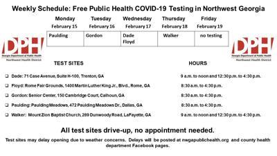 DPH COVID-19 testing
