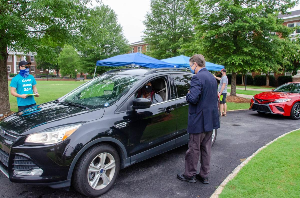 Shorter University students begin moving back in at campus