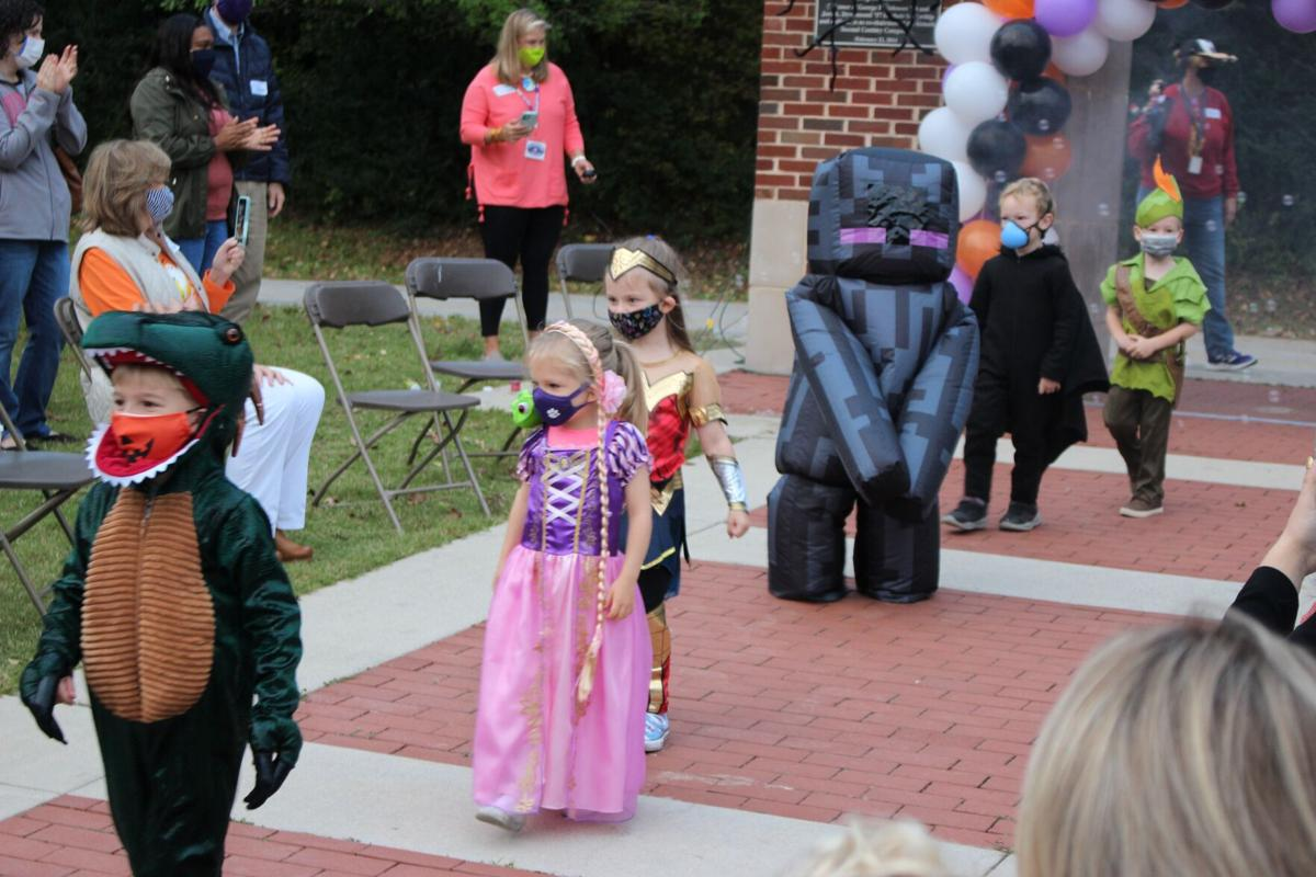 Darlington hosts Halloween parade for Lower School, parents visit campus for the first time this year