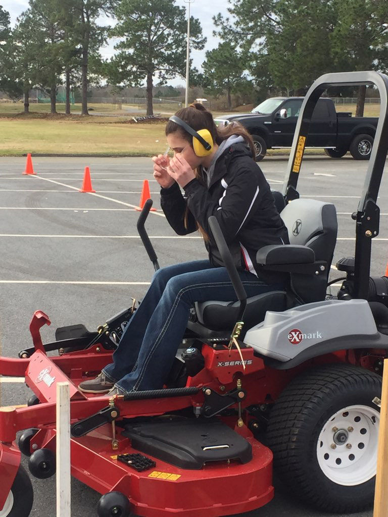 Carr finishes 2nd in state FFA competition